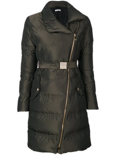 дутое пальто на молнии Versace Collection