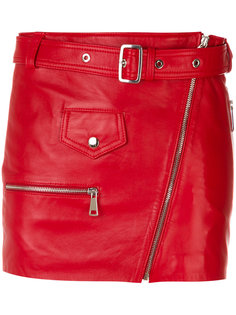 короткая юбка с поясом Manokhi