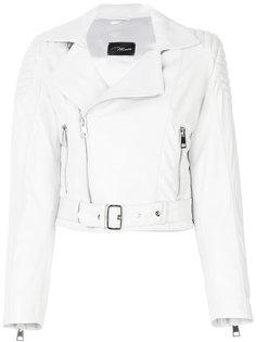 укороченная куртка из кожи Manokhi