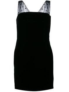 платье-мини без рукавов Saint Laurent