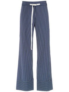 striped wide leg trousers Gloria Coelho