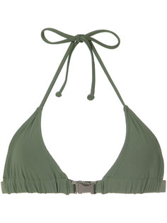 buckle triangle bikini top Gloria Coelho
