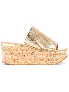 сандалии на танкетке Camille Chloé