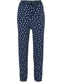 спортивные брюки с цветочным принтом  Michael Michael Kors