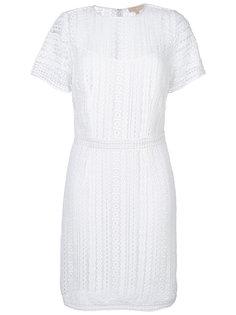 вязаное ажурное платье Michael Michael Kors