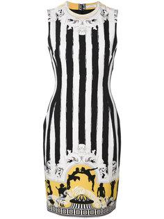 мини-платье с рисунком Senape Versace Collection