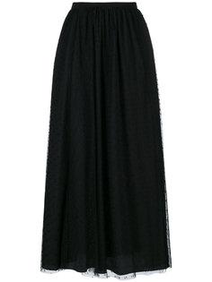 многослойная юбка из тюля Red Valentino