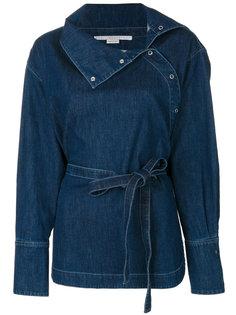 джинсовая куртка с запахом Stella McCartney