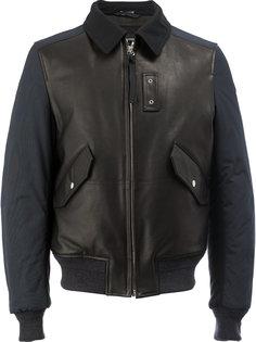 куртка-бомбер с воротником Lanvin
