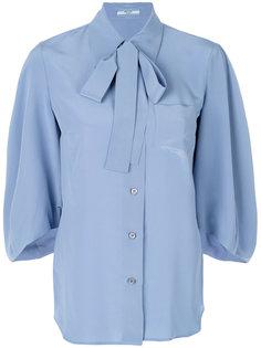 блузка с бантом  Prada