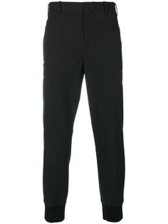 брюки с присборенными щиколотками Neil Barrett