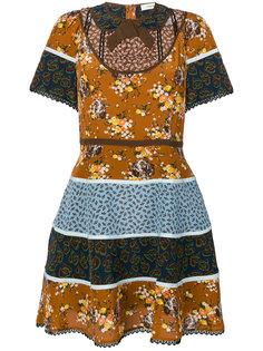 платье с цветочными узорами Coach
