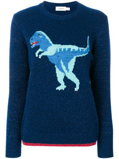 свитер с вязаным рисунком T-Rex Coach