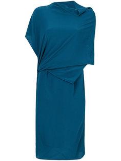 платье с драпировками Humanoid