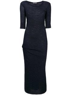 длинное платье из джерси Humanoid
