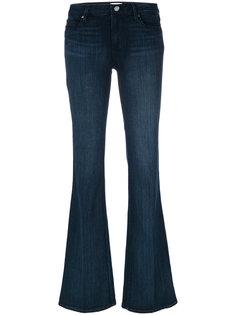длинные расклешенные джинсы Paige