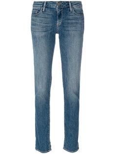 облегающие джинсы с заниженной посадкой Paige