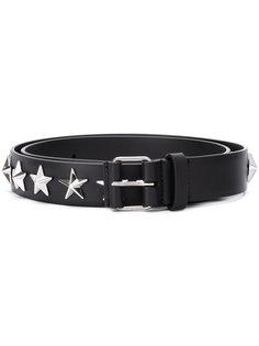 ремень с заклепками в форме звезд Givenchy