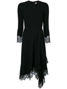 миди платье с кружевной отделкой Givenchy