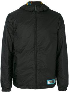 двухсторонняя куртка с капюшоном Prada
