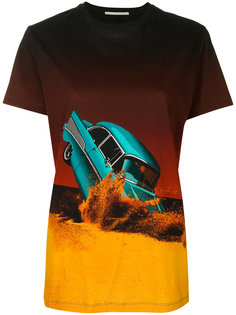 футболка с разбитой машиной Marco De Vincenzo