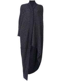 асимметричное вязаное пончо Humanoid