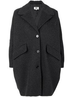 пальто-кокон Mm6 Maison Margiela