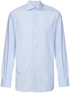 классическая рубашка с длинными рукавами  Isaia