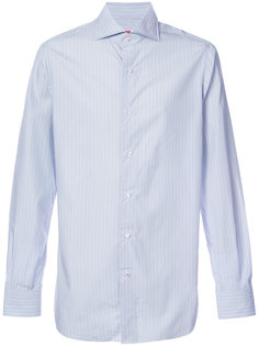 рубашка в полоску с длинными рукавами  Isaia
