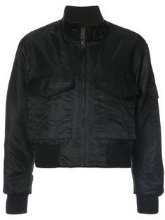 куртка-бомбер с передним карманом  Nili Lotan