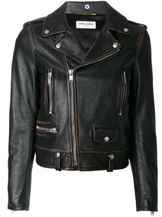мотоциклетная куртка Classic Bouche Saint Laurent