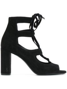 босоножки на шнуровке LouLou 95 Saint Laurent