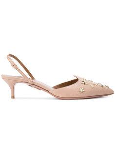 туфли с заклепками в форме звезд Aquazzura