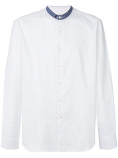 рубашка с контрастной отделкой Al Duca D'Aosta 1902