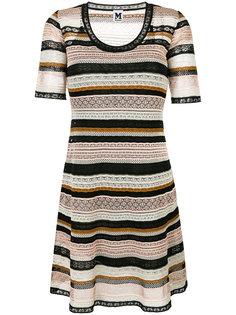 вязаное платье с вырезом-ковшом M Missoni