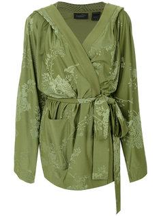 пиджак-кимоно с цветочным узором в тон Fenty X Puma