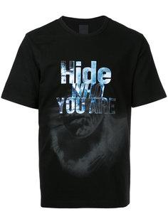 футболка с нашивкой Hide Juun.J