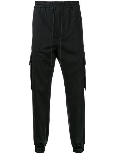 спортивные штаны на завязках с карманами Juun.J