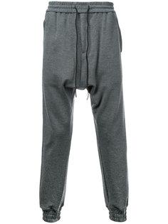 зауженные спортивные брюки Juun.J