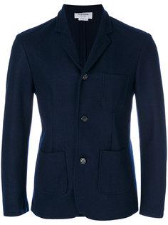 пиджак в спортивном стиле без подкладки Thom Browne