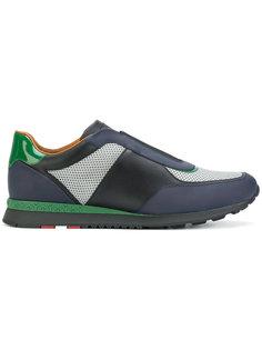 кроссовки с контрастными вставками Bally