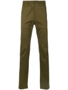 брюки узкого кроя Saint Laurent