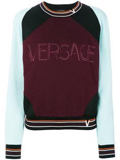 контрастная толстовка Versace