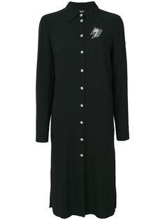 платье-рубашка с вырезом на спине Versus
