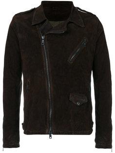 куртка со смещенной застежкой Giorgio Brato