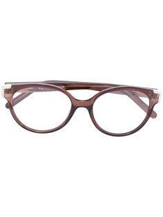очки в оправе формы кошачий глаз Chloé Eyewear
