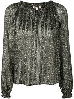 блузка с цветочным рисунком Michael Michael Kors