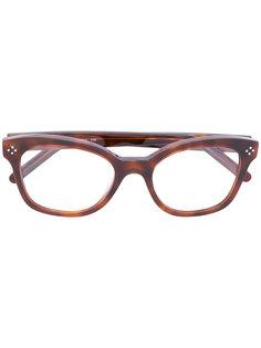 очки с эффектом черепахового панциря Chloé Eyewear