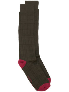 клетчатые носки Al Duca D'Aosta 1902