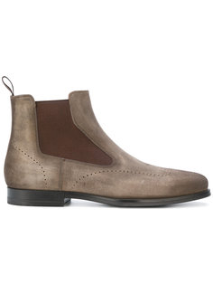 высокие ботинки с эластичными вставками Santoni